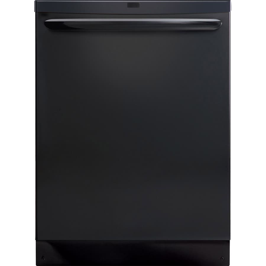 Frigidaire Gallery 2465 Series 53-Decibel Built-in Dishwasher with Hard Food Disposer (Black) (Common: 24-in; Actual 24-in) ENERGY STAR