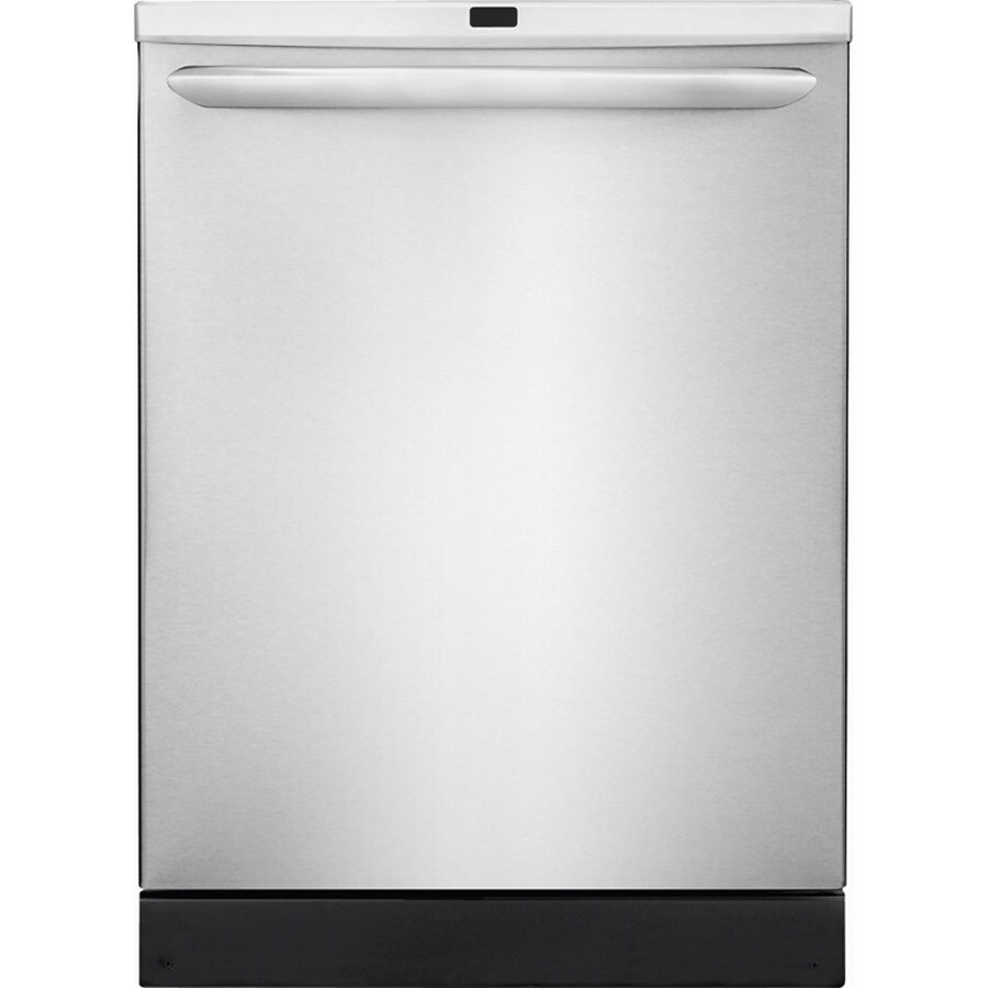 Frigidaire Gallery 2465 Series 53-Decibel Built-in Dishwasher with Hard Food Disposer (Stainless Steel) (Common: 24-in; Actual: 24-in)
