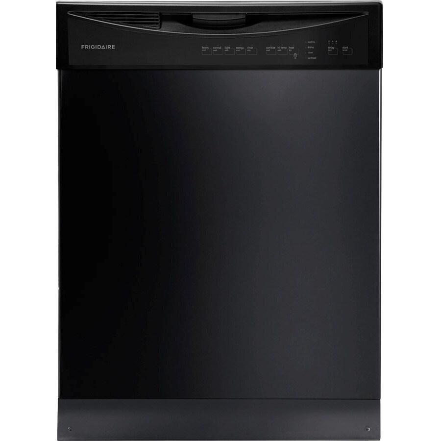 Frigidaire 24 In Black Built In Dishwasher: Frigidaire 2411 Series 55-Decibel Built-in Dishwasher