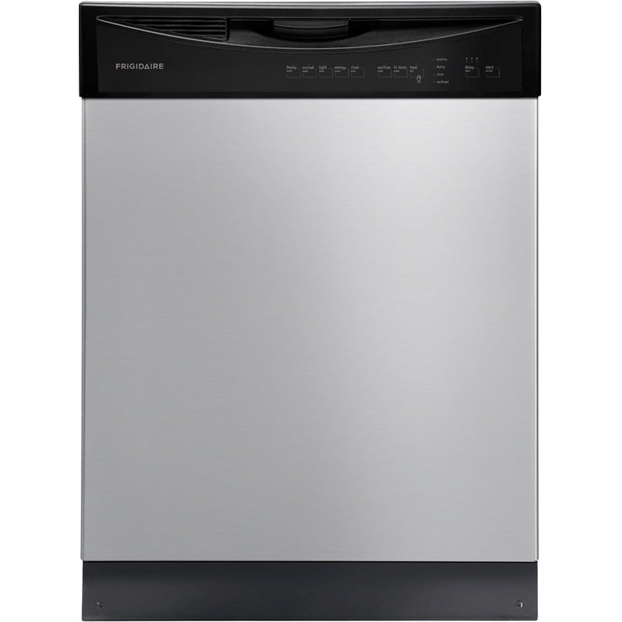 Frigidaire 2411 Series 55-Decibel Built-In Dishwasher (Stainless Steel) (Common: 24-in; Actual: 24-in)