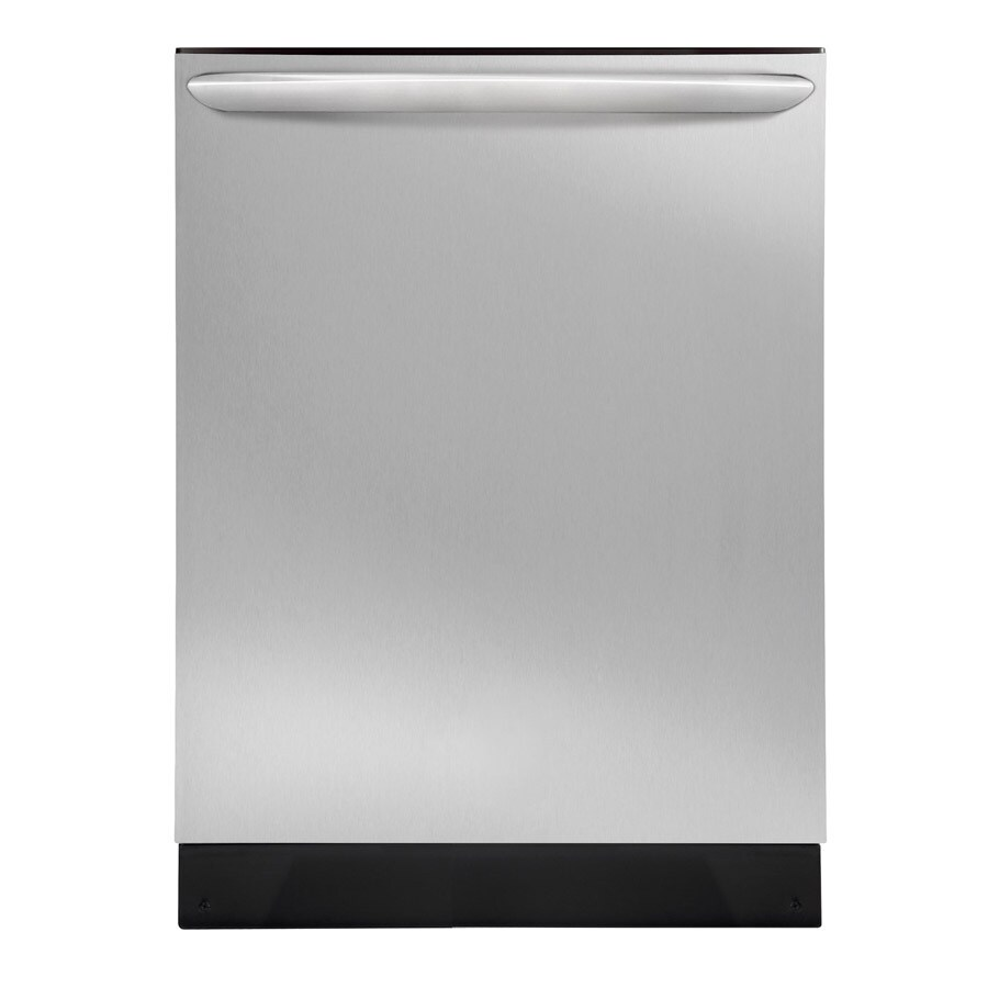 Frigidaire 51-Decibel Built-in Dishwasher with Hard Food Disposer (Stainless Steel) (Common: 24-in; Actual: 24-in)