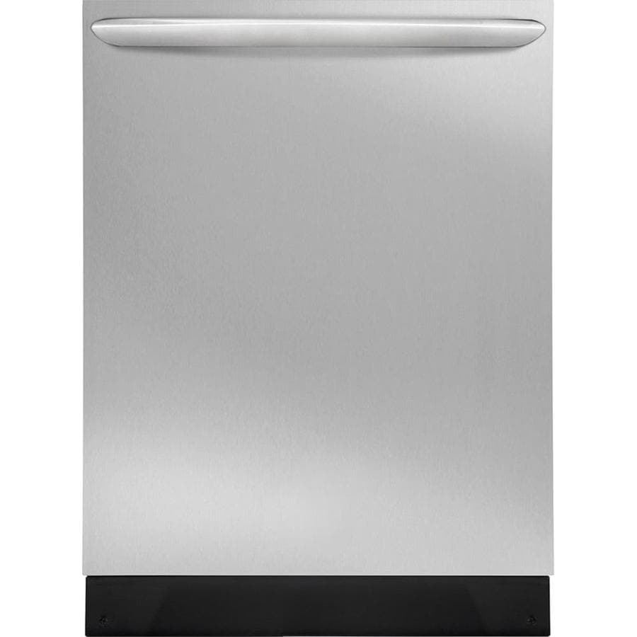 Frigidaire Gallery 52-Decibel Built-in Dishwasher with Hard Food Disposer (Smudge-Proof Stainless Steel) (Common: 24-in; Actual: 24-in) ENERGY STAR