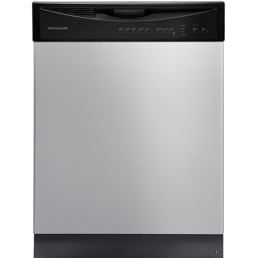 Frigidaire 55-Decibel Built-in Dishwasher with Hard Food Disposer (Easycare Stainless Steel) (Common: 24-in; Actual: 24-in) ENERGY STAR