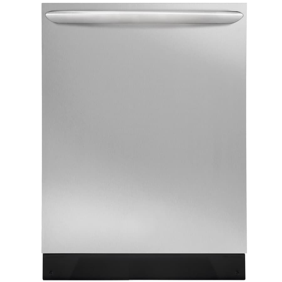 Frigidaire Gallery 51-Decibel Built-in Dishwasher with Bottle Wash Feature (Smudge-Proof Stainless Steel) (Common: 24-in; Actual: 23.75-in)