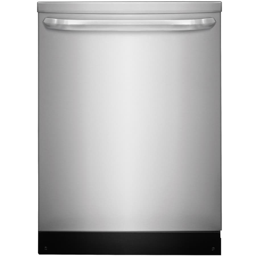 Shop Whirlpool 55 Decibel Built In Dishwasher Black On: Shop Frigidaire 55-Decibel Built-in Dishwasher With Hard
