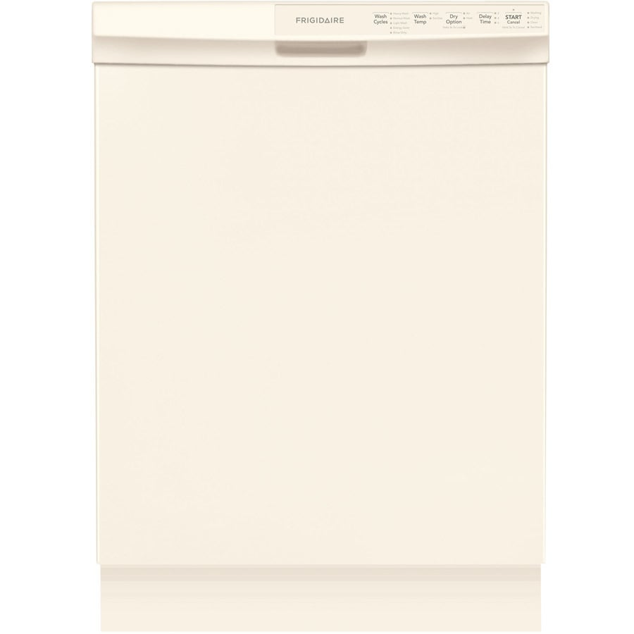 Frigidaire 55-Decibel Built-in Dishwasher with Hard Food Disposer (Bisque) (Common: 24-in; Actual: 24-in) ENERGY STAR