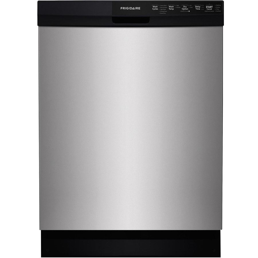 Frigidaire 55-Decibel Built-in Dishwasher with Hard Food Disposer (Silver Mist) (Common: 24-in; Actual: 24-in) ENERGY STAR