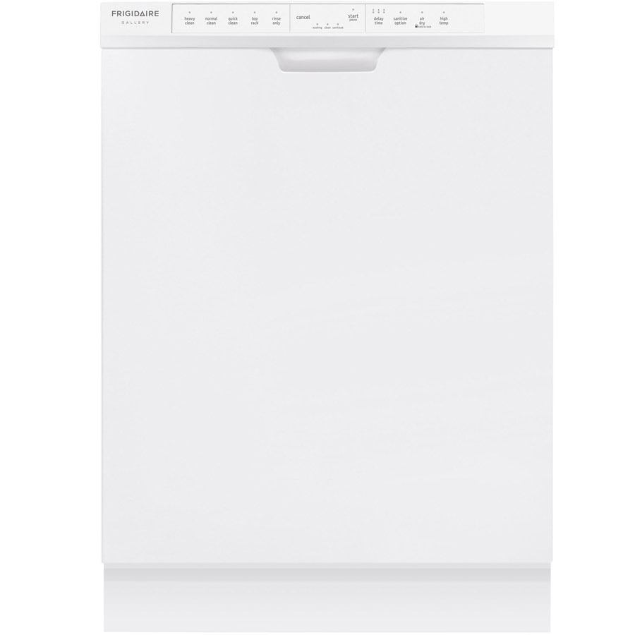 Frigidaire Gallery 54-Decibel Built-in Dishwasher (White) (Common: 24-in; Actual: 24-in) ENERGY STAR