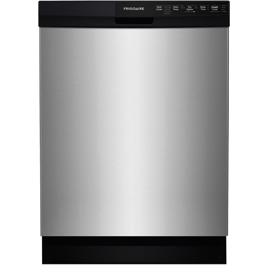 Frigidaire 55-Decibel Built-In Dishwasher and Hard Food Disposer (EasyCare Stainless Steel) (Common: 24-in; Actual: 24-in) ENERGY STAR