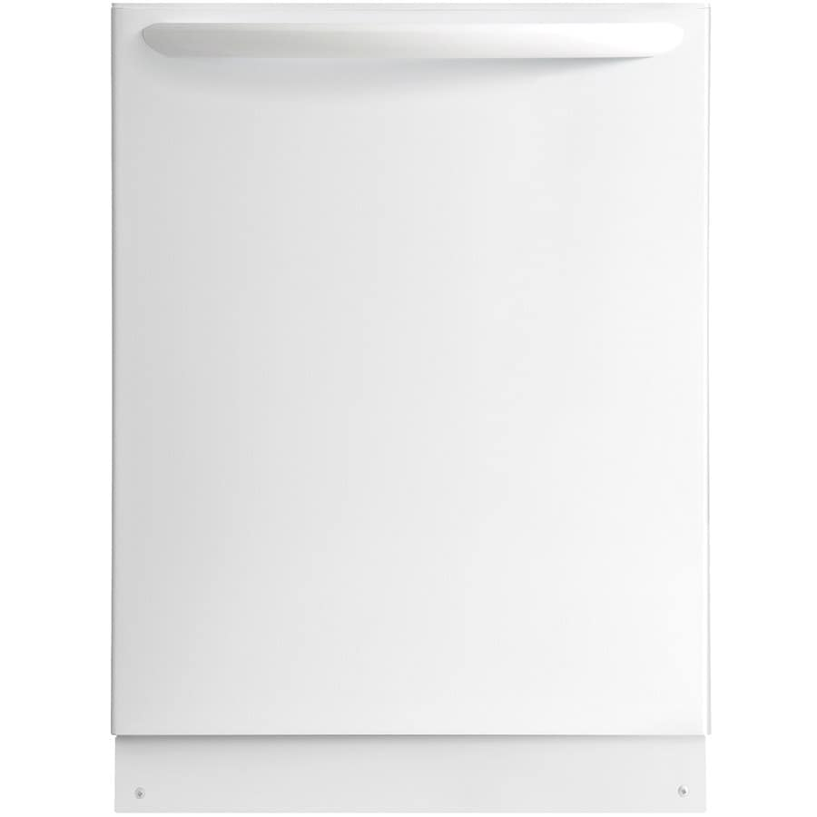 Frigidaire Gallery 51-Decibel Built-In Dishwasher (White) (Common: 24-in; Actual: 24-in) ENERGY STAR