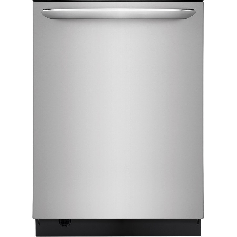Frigidaire Gallery 49-Decibel Built-In Dishwasher with Bottle Wash (Smudge-Proof Stainless Steel) (Common: 24-in; Actual: 24-in) ENERGY STAR