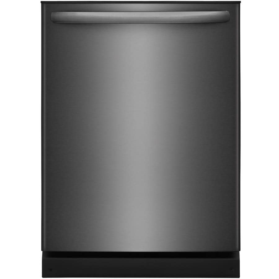 Frigidaire 54-Decibel Built-in Dishwasher (Black Stainless Steel) (Common: 24-in; Actual: 24-in) ENERGY STAR