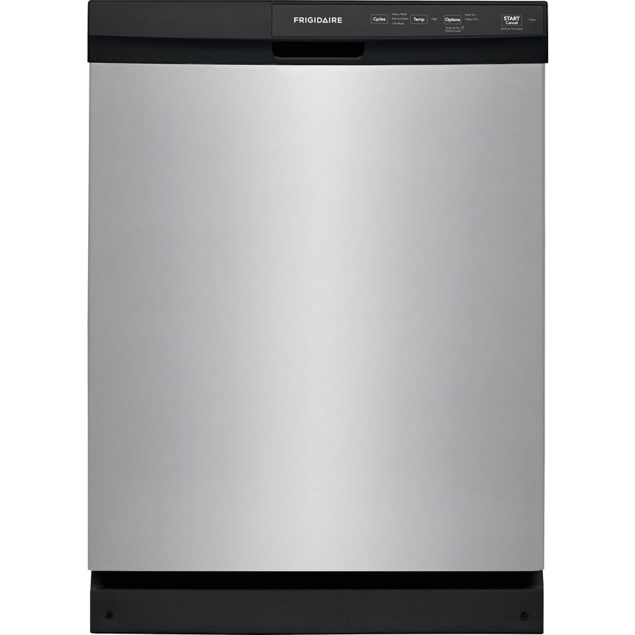Frigidaire 60-Decibel Built-in Dishwasher (Stainless Steel) (Common: 24 Inch; Actual: 24-in) ENERGY STAR
