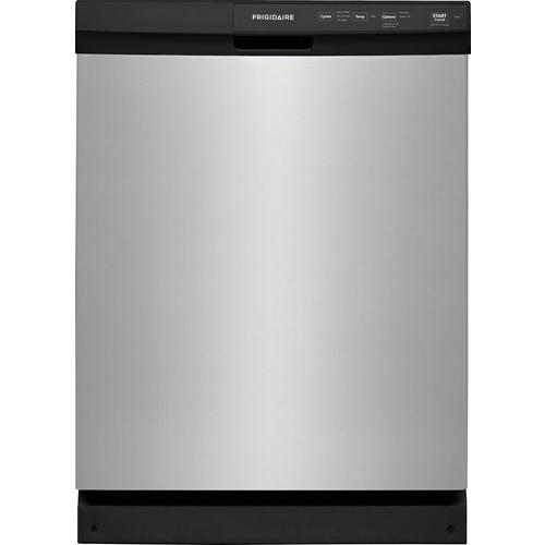 Frigidaire 60-Decibel Front Control Built-In Dishwasher (Stainless Steel) (Common: 24-in; Actual: 24-in) ENERGY STAR