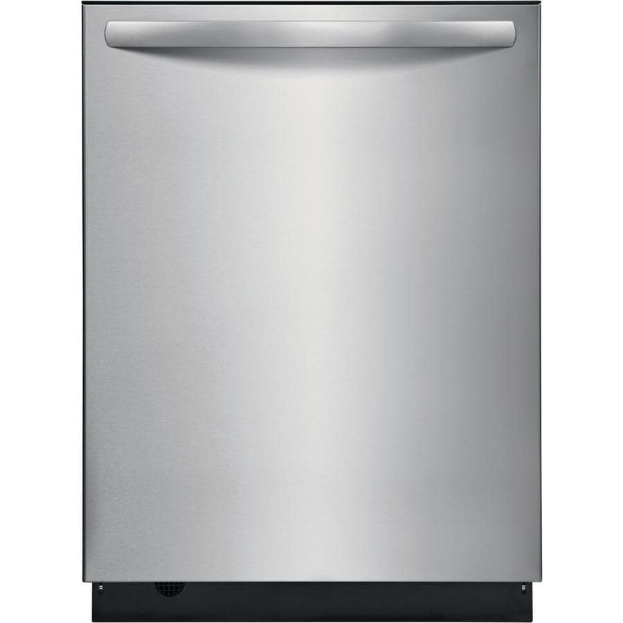 Frigidaire 49-Decibel Built-In Dishwasher (EasyCare; Stainless Steel) (Common: 24 Inch; Actual: 23.75-in) ENERGY STAR