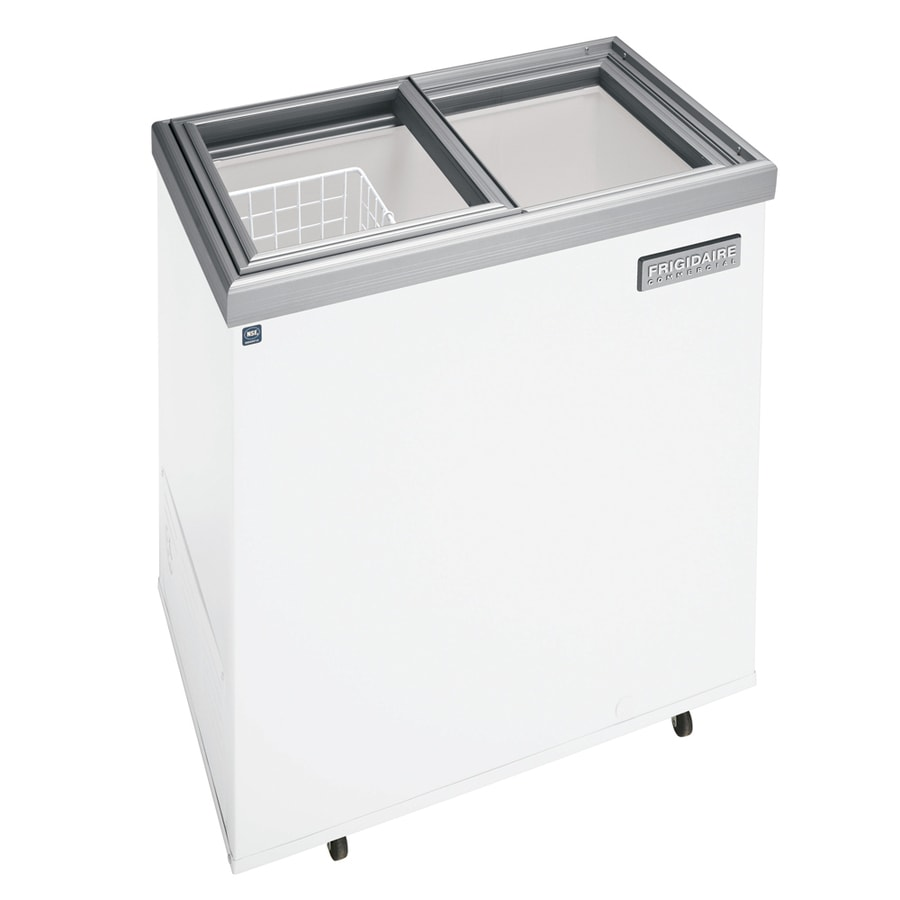 Frigidaire 7.2-cu ft Commercial Chest Freezer (White) ENERGY STAR
