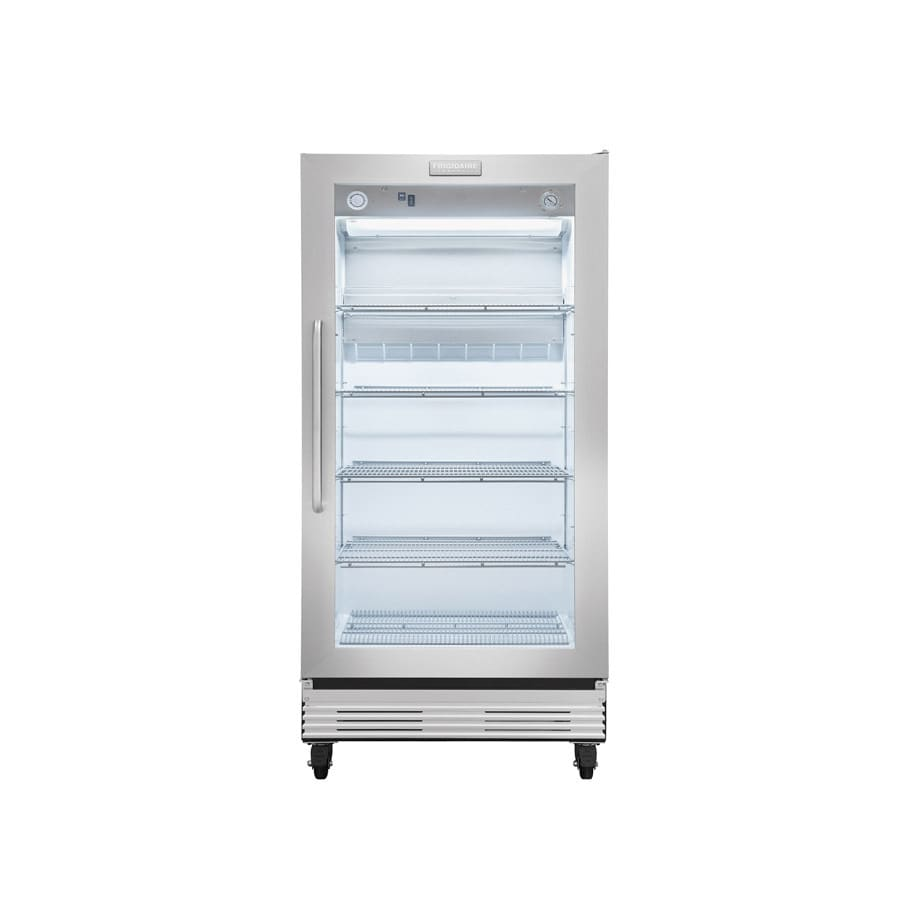 Frigidaire 19.7-cu ft Commercial Freezerless Refrigerator (Stainless)