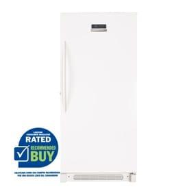 Frigidaire 20.5-cu ft Upright Freezer (White) ENERGY STAR