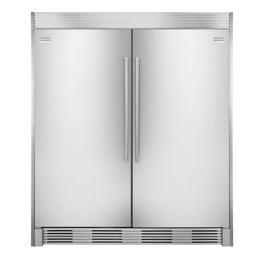 shop frigidaire side by side refrigerator trim kit stainless steel at. Black Bedroom Furniture Sets. Home Design Ideas