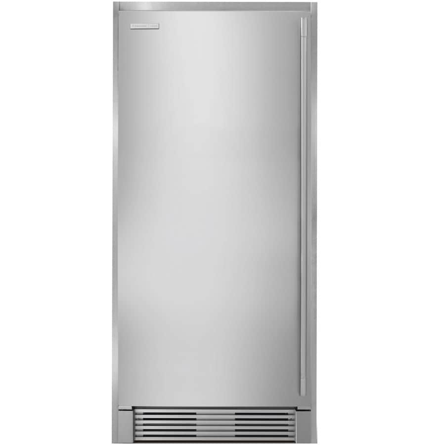 electrolux icon 1858cu ft frostfree upright freezer stainless steel - Upright Freezers