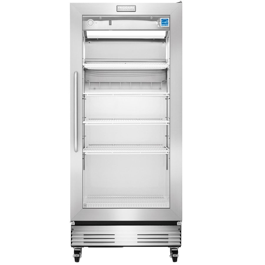 65dc40a7982 Frigidaire 18.4-cu ft 1-Door Merchandiser Commercial Refrigerator  (Stainless Steel) ENERGY STAR. 9 Ratings