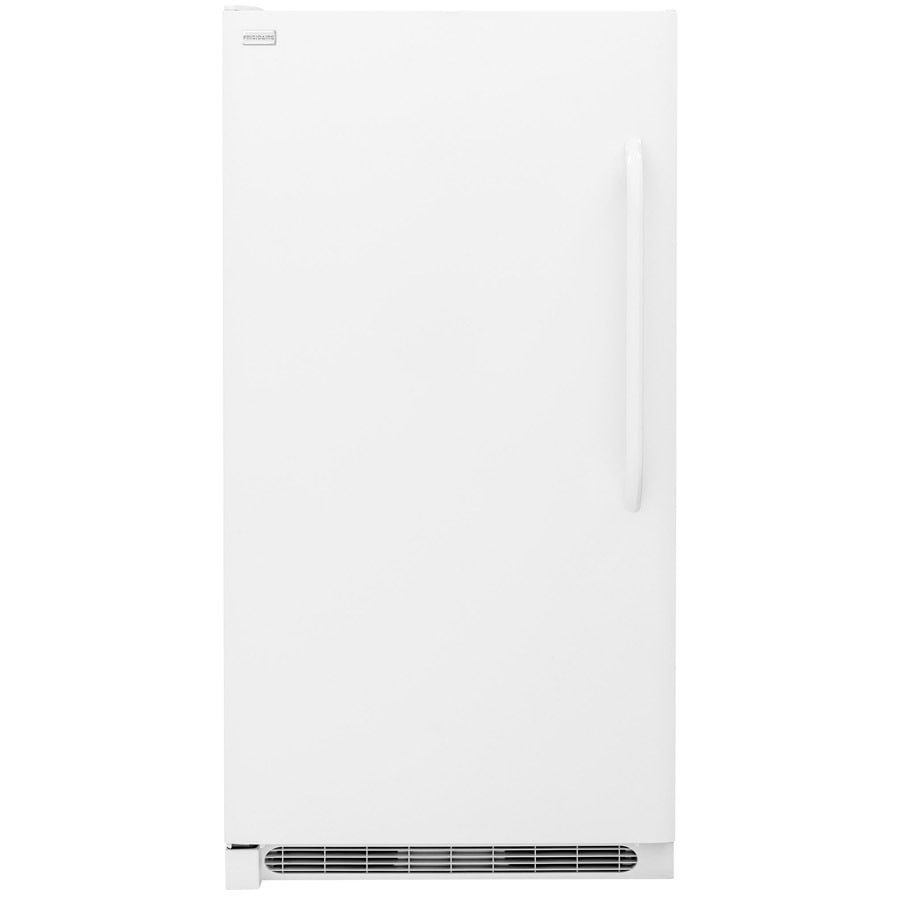 Frigidaire 20.5-cu ft Frost-free Reversible Door Upright Freezer (White)