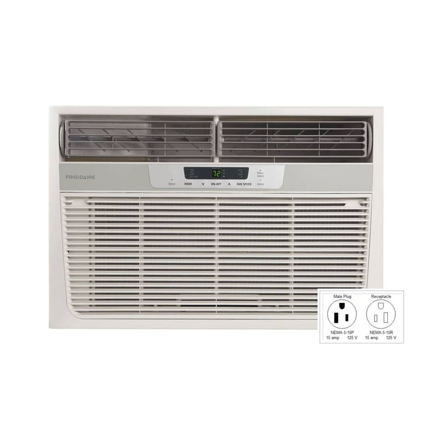 Frigidaire 11000-BTU 570-sq ft 115-Volt Window Air Conditioner with Heater