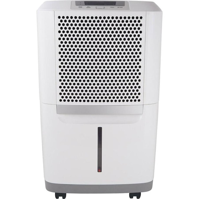 Frigidaire 50-Pint 2-Speed Dehumidifier ENERGY STAR in the Dehumidifiers  department at Lowes.comFrigidaire 50-Pint 2-Speed Dehumidifier ENERGY STAR in the Dehumidifiers  department at Lowes.com