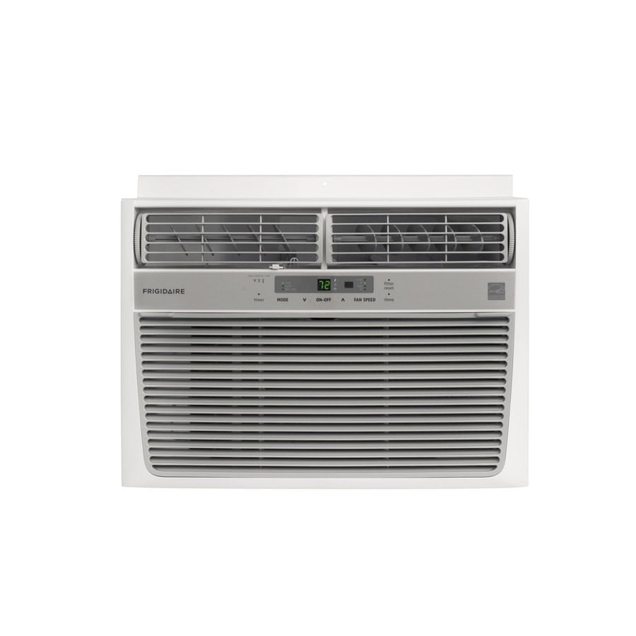 Shop frigidaire 12000 btu 550 sq ft 115 volt window air for 12000 btu ac heater window unit