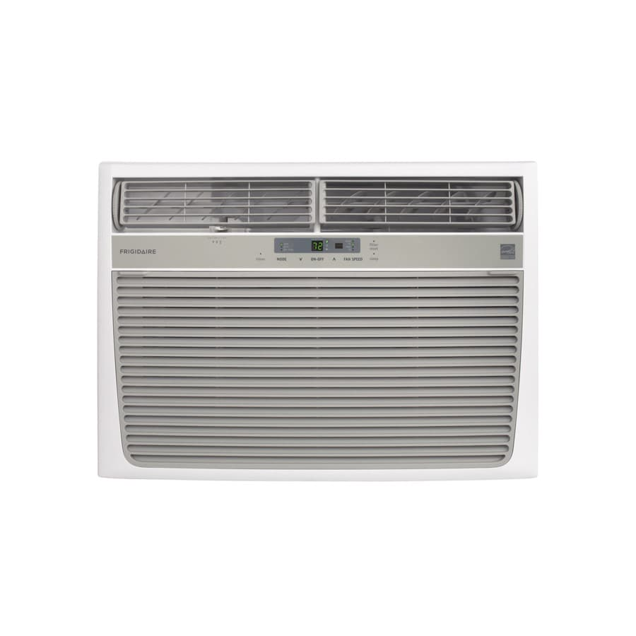 shop frigidaire 15100 btu 850 sq ft 115 volt window air