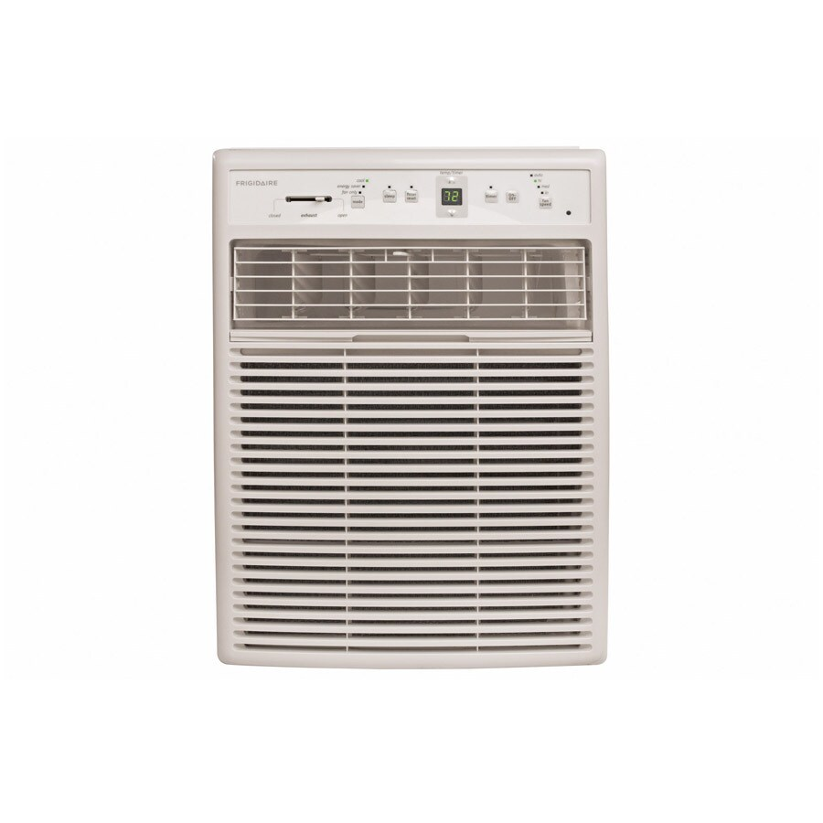Shop frigidaire 12000 btu 550 sq ft 115 volt window air for 12 000 btu window air conditioner with heat