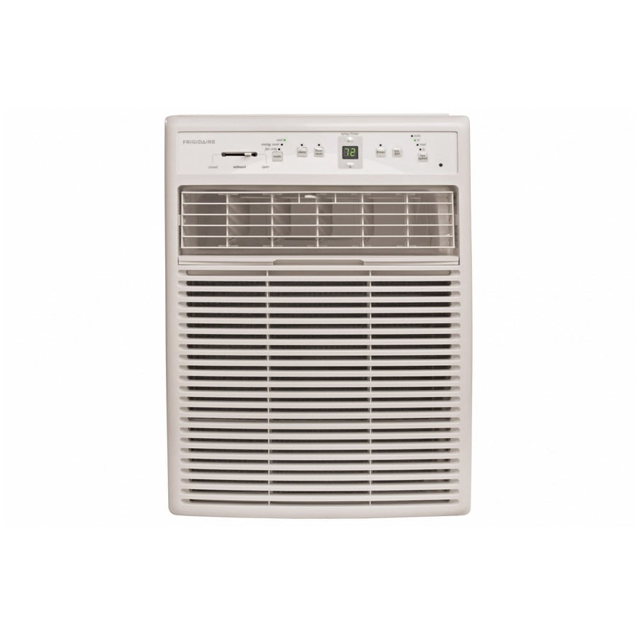 Shop frigidaire 12000 btu 550 sq ft 115 volt window air for 12 000 btu window air conditioner