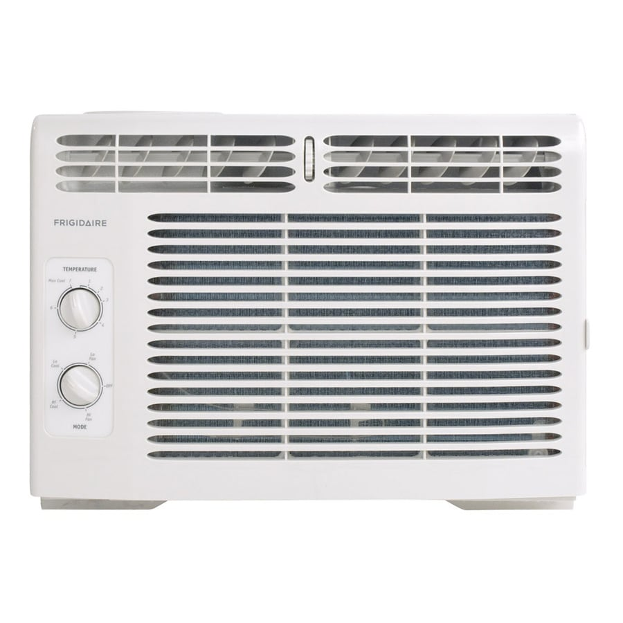 Shop frigidaire 5000 btu 150 sq ft 115 volt window air conditioner at - Bedroom air conditioner ...