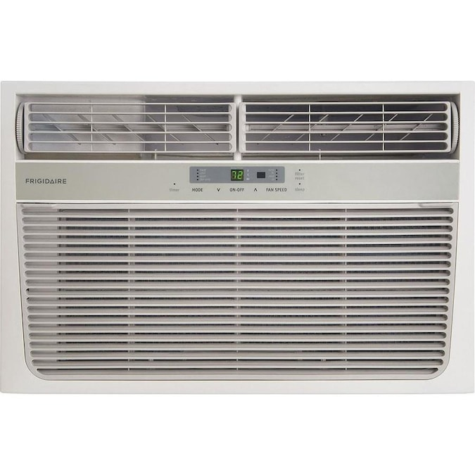 Frigidaire 500 Sq Ft Window Air Conditioner With Heater 115 Volt 11000 Btu In The Window Air Conditioners Department At Lowes Com
