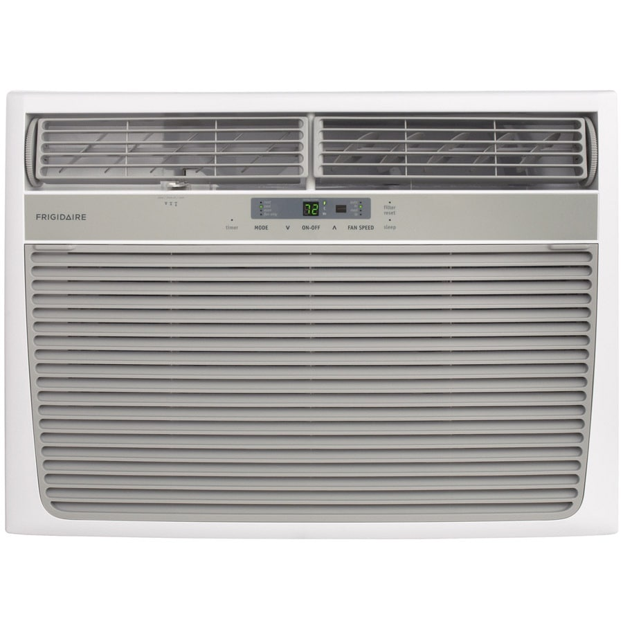 shop frigidaire 1050-sq ft window air conditioner with heater (230