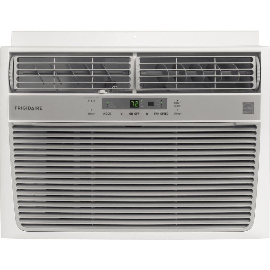 Shop frigidaire 12000 btu 550 sq ft 115 volt window air for 12k btu window air conditioner