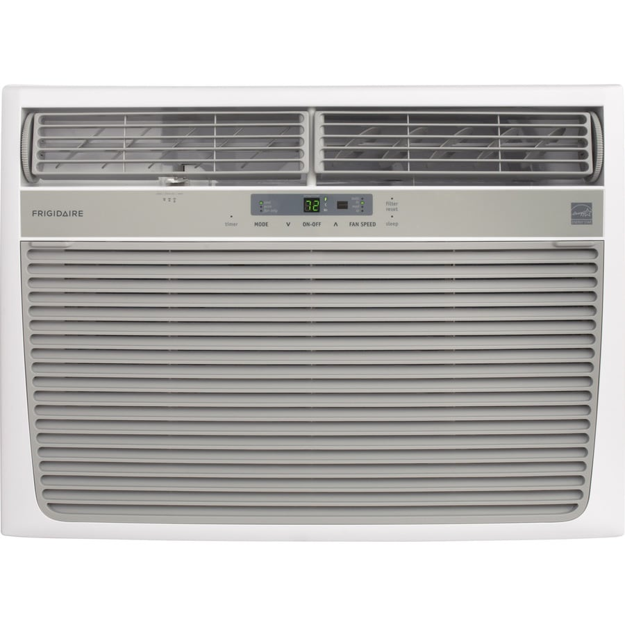 Shop frigidaire 1050 sq ft window air conditioner 230 for 18000 btu ac heater window unit