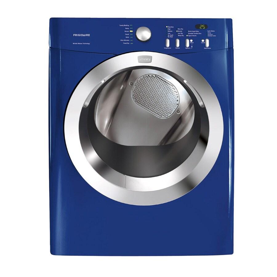 frigidaire affinity 70 cu ft electric dryer color classic blue - Frigidaire Affinity Dryer
