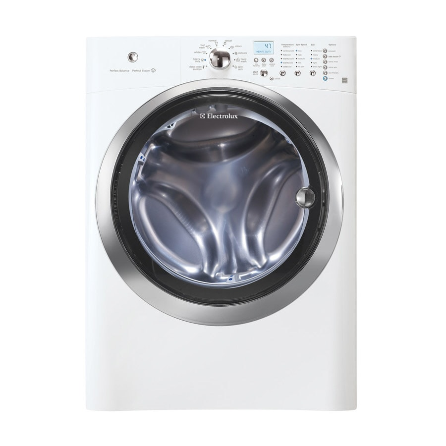 Electrolux 4.2-cu ft High-Efficiency Stackable Front-Load Washer (Island White)