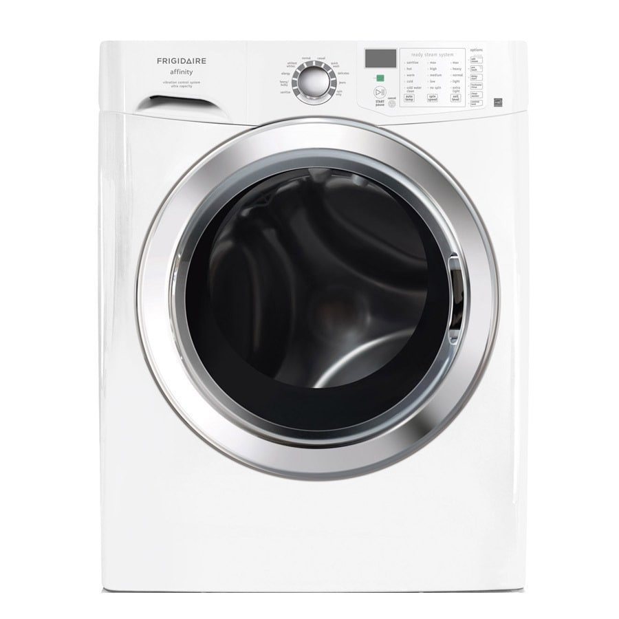 Frigidaire 3.8-cu ft High-Efficiency Stackable Front-Load Washer (Classic White)