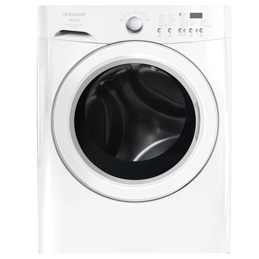 Frigidaire Affinity 3.7-cu ft High-Efficiency Stackable Front-Load Washer (Classic White)