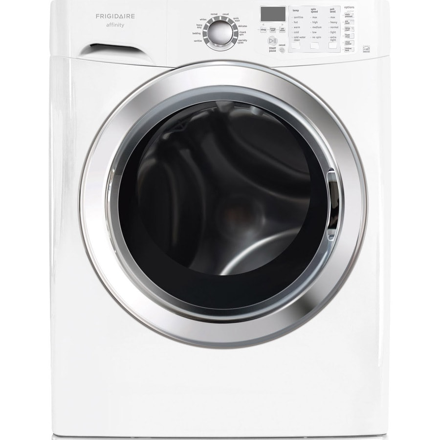 Frigidaire Affinity 3.9-cu ft High Efficiency Front-Load Washer (Classic White) ENERGY STAR