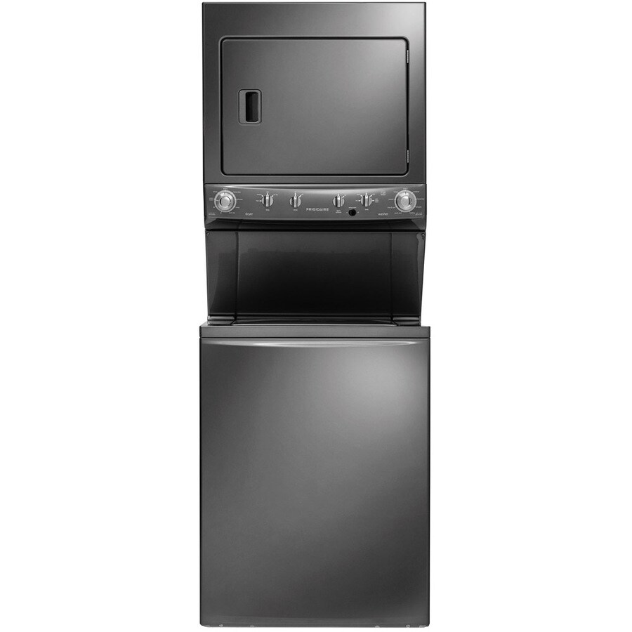 Miele stackable washer dryer ventless - Frigidaire Electric Stacked Laundry Center With 3 8 Cu Ft Washer And 5 5 Cu Ft