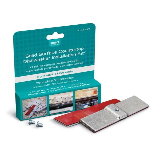 Smart Choice Universal Dishwasher Mounting Kit Countertop Mount