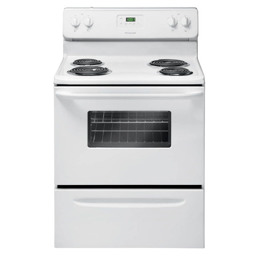 Shop Frigidaire Freestanding 4 8 Cu Ft Electric Range