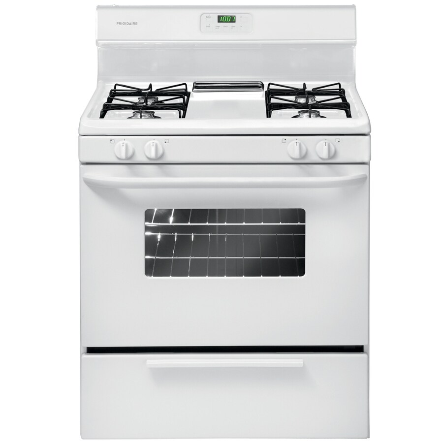 superb Ada Compliant Kitchen Appliances #2: Frigidaire Freestanding 4.2-cu ft Gas Range (White) (Common: 30-
