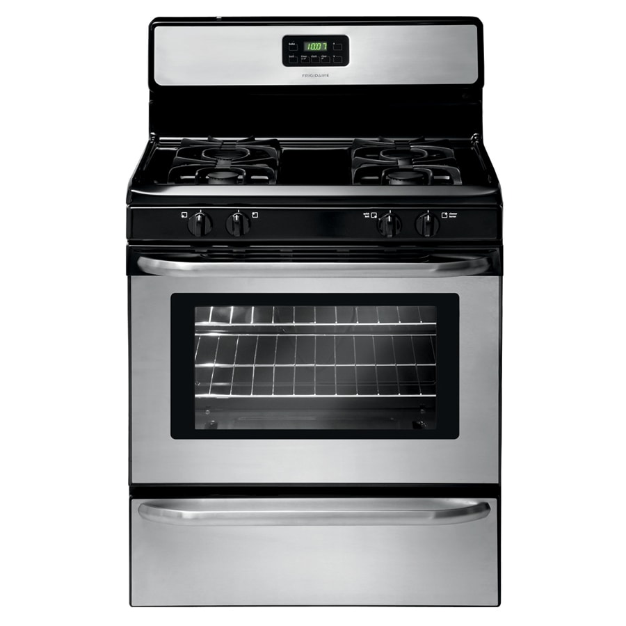 lovely Ada Compliant Kitchen Appliances #4: Frigidaire Freestanding 4.2-cu ft Gas Range (Stainless Steel) (Common: 30
