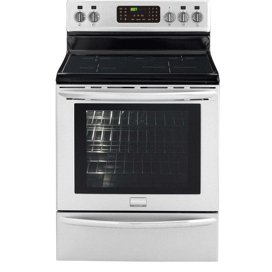 Frigidaire 5-Element 5.4-cu ft Freestanding Induction Range (Smudge-Proof Stainless Steel) (Common: 30-in; Actual 29.88-in)