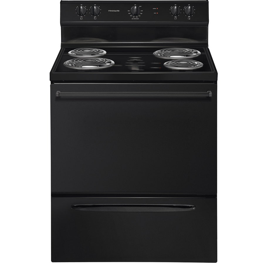 Frigidaire Freestanding 4.2-cu ft Electric Range (Black) (Common: 30-in; Actual: 29.88-in)