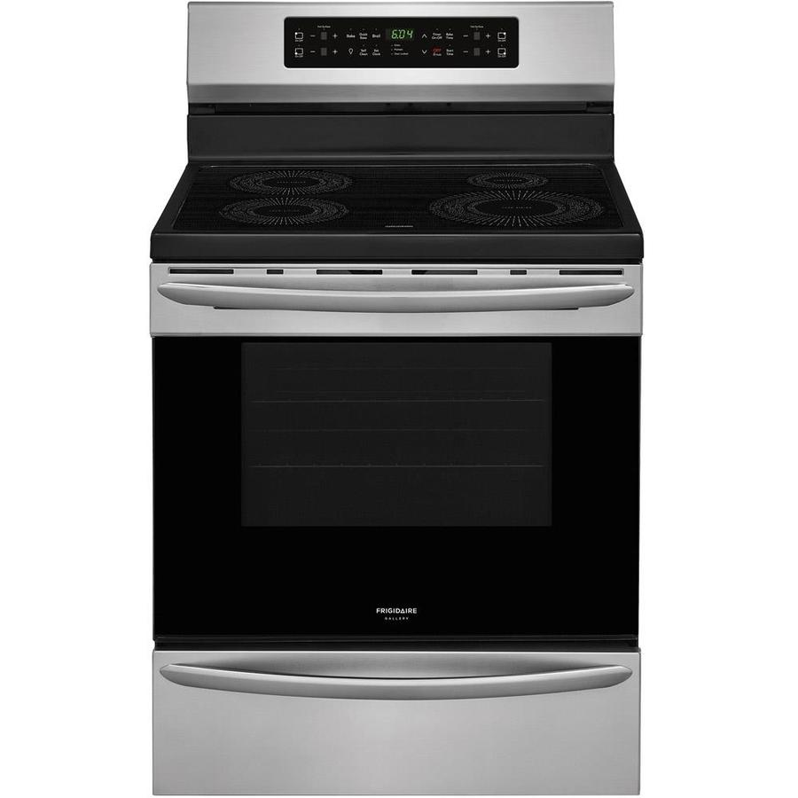 Frigidaire Gallery 4 Element 5 Cu Ft Freestanding Induction Range Smudge Proof